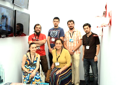 INOE team with Dr. Diana Dochia, co-director Art Safari
